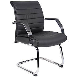 Boss Ribbed Mid Back Guest Chair