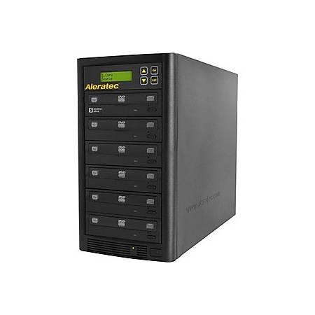 Aleratec 1:5 DVD/CD Copy Tower Stand-Alone Duplicator Part 260181 - StandaloneDVD-ROM, DVD-Writer - 22x DVD+R, 22x DVD-R, 8x DVD+R, 8x DVD-R, 48x CD-R - 12x DVD-RAM, 32x CD-RW - 48 CD Write/32 CD Rewrite22 DVD Write/12 DVD Rewrite