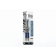 SKILCRAFT Zebra Retractable Ballpoint Pens Fine