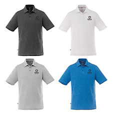 Tipton Mens Short Sleeve Knit Polo