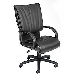 Boss Office Products Bonded Leather Executive