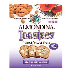 Almondina Toastees Lemon Poppy Almond 525