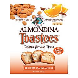 Almondina Toastees Coconut Orange Almond 525