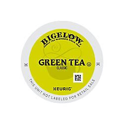 Bigelow Green Tea K Cup Pods