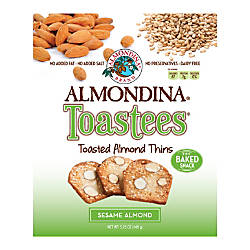 Almondina Toastees Sesame Almond 525 Oz