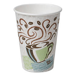 Dixie PerfecTouch Paper Hot Cups 12