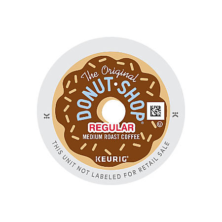 The Original Donut Shop Coffee K-Cup Pods, Case Of 96 Pods