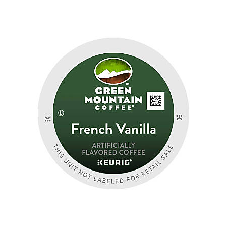 Green Mountain Coffee® French Vanilla Coffee K-Cup® Pods, Case Of 96