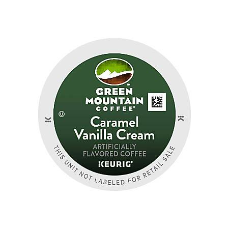 Green Mountain Coffee® Caramel Vanilla Coffee K-Cup® Pods, Carton Of 96