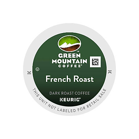 Green Mountain Coffee® French Roast Coffee, K-Cup® Pods, Case Of 96