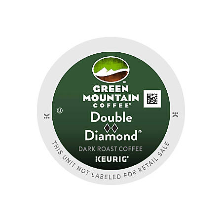 Green Mountain Coffee® Double Black Diamond Extra Bold Coffee K-Cup® Pods, Case Of 96