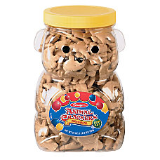 Stauffers Bear Jug With Animal Crackers