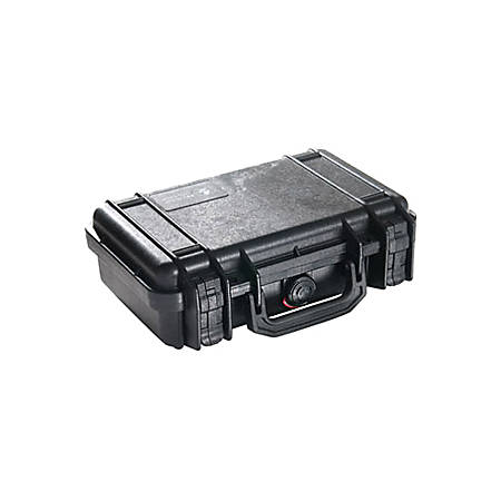 """Pelican 1170 Carrying Case Handheld PC - Yellow - Crush Proof, Dust Proof - Stainless Steel, Copolymer, Foam Interior - Handle - 8.3"""" Height x 11.6"""" Width x 3.8"""" Depth"""