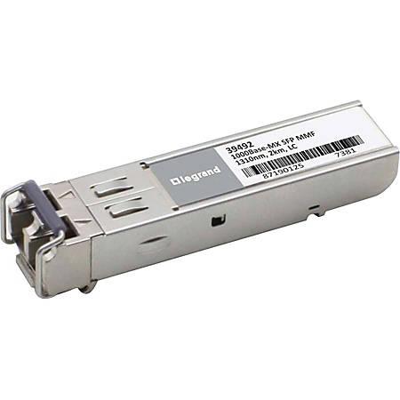 C2G Enterasys MGBIC-LC03 Compatible 1000Base-MX MMF SFP (mini-GBIC) Transceiver Module