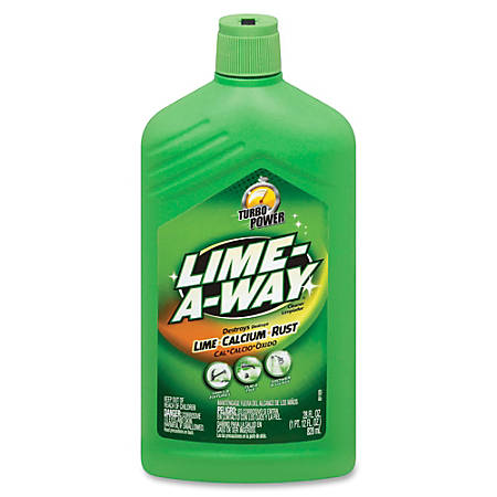 Lime-A-Way Cleaner - Gel - 0.22 gal (28 fl oz) - 6 / Carton - Clear