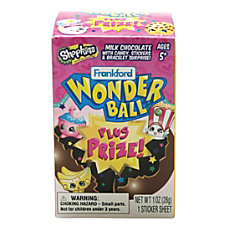 Frankford Candy Shopkins Wonder Ball 1