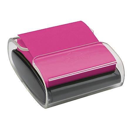 "Post-it® Pop-up Note Dispenser, 3"" x 3"", Black"