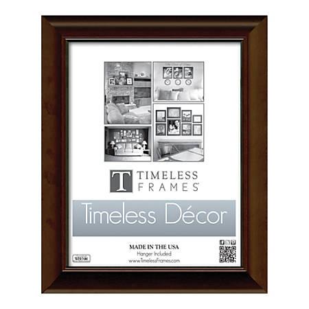"""Timeless Frames Katrina Frame, 11"""" x 17"""", Brown"""