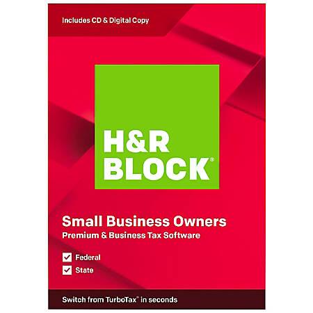 H&R Block® 2019, Premium & Business, For PC/Mac