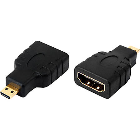 4XEM Micro HDMI Male To HDMI A Female Adapter