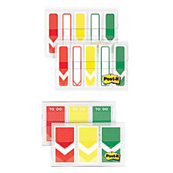 Post it Arrow Flags Assorted Sizes