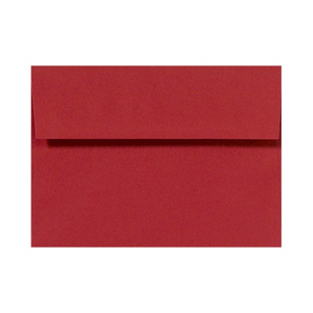 lux invitation envelopes with peel press closure a2 4 38 x 5 34 ruby