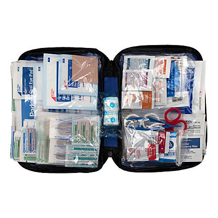 First Aid Only 298-Piece All-Purpose Essentials Soft-Sided First Aid Kit, Blue