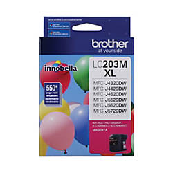 Brother High Yield Ink Cartridge Magenta