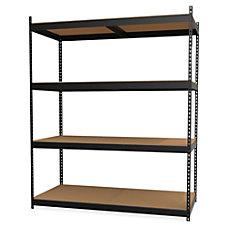 Lorell 4 Shelf Steel Archival Shelving