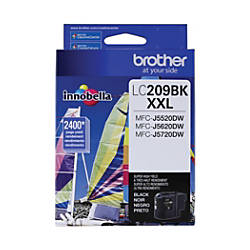 Brother LC209BKS Extra High Yield Black