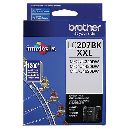 Brother® Extra-High-Yield Ink Cartridge, Black, LC207BKS