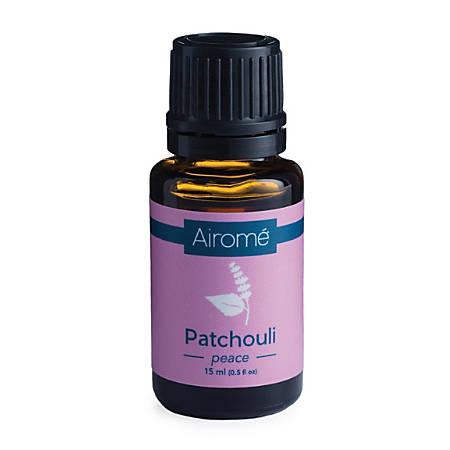 Airome Essential Oils, Patchouli, 0.5 Fl Oz, Pack Of 2 Bottles