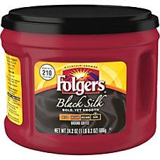 Folgers Black Silk Coffee 242 Oz