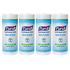 Purell Hand Sanitizing Wipes Citrus Scent