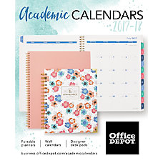 20172018 Office Depot Academic Calendar