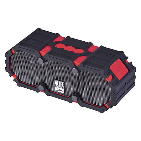 "Altec Lansing® Bluetooth® Speaker, Mini Life Jacket 3s, 3""H x 4.2""W x 7""D, Deep Red, IMW478-DR"