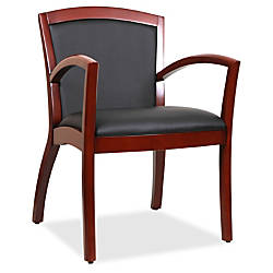 Lorell Guest Chair With Arched Arms