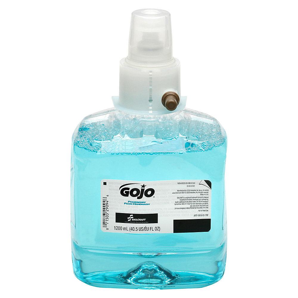 GOJO? LTX? Foam Handwash Refill, Pomeberry, 40 Oz
