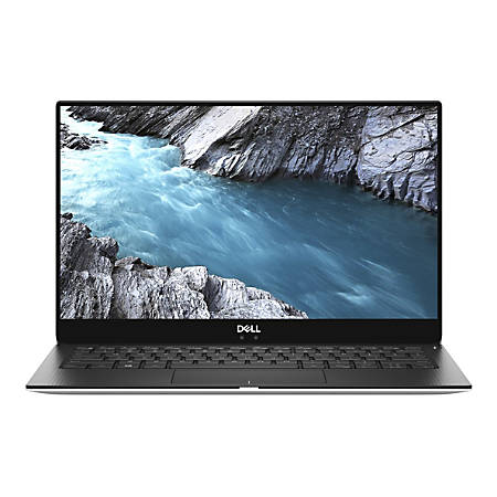 """Dell™ XPS 13 9370 Laptop, 13.3"""" Screen, 8th Gen Intel® Core™ i7, 8GB Memory, 256GB Solid State Drive, Windows® 10 Professional, XPS9370-7717SLV-PUS"""