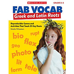 Scholastic Teacher Resources Fab Vocab Greek