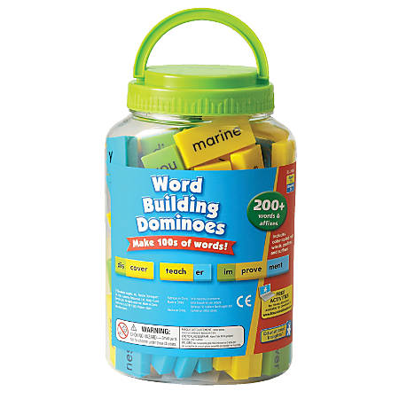 Learning Resources Word Building Dominoes Set