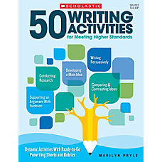 Scholastic Teacher Resources 50 Writing Activities