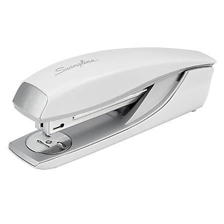 Swingline NeXXt Series Style Desktop Stapler - 40 Sheets Capacity - 210 Staple Capacity - Full Strip - White