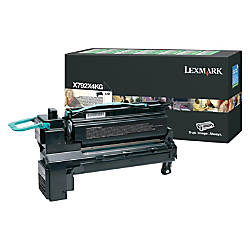 Lexmark X792X4KG Extra High Yield Return