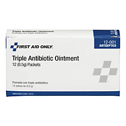 First Aid Only BZK Antiseptic Towelettes