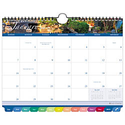 Day Timer Garden Path Monthly Wall