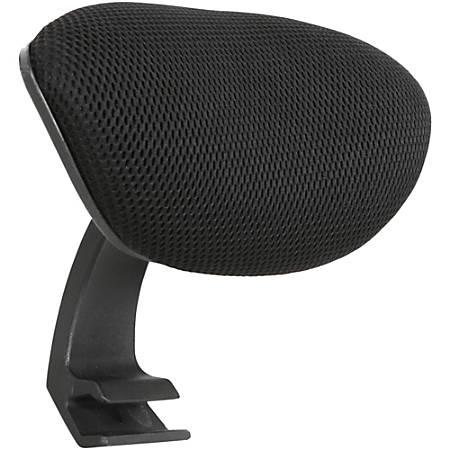 Lorell® Executive Mesh Headrest, Black