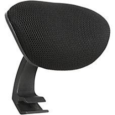 Lorell Executive Mesh Headrest Black