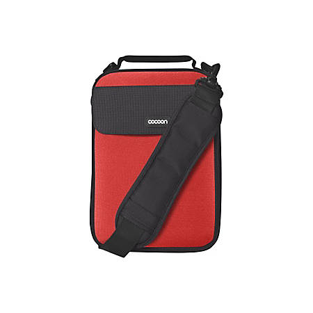"Cocoon CNS343RD Carrying Case (Sleeve) for 10.2"" Netbook - Racing Red"