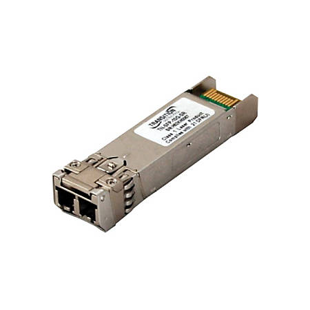Transition Networks 10GBase SFP+ Cisco Compatible - For Data Networking, Optical Network10.3